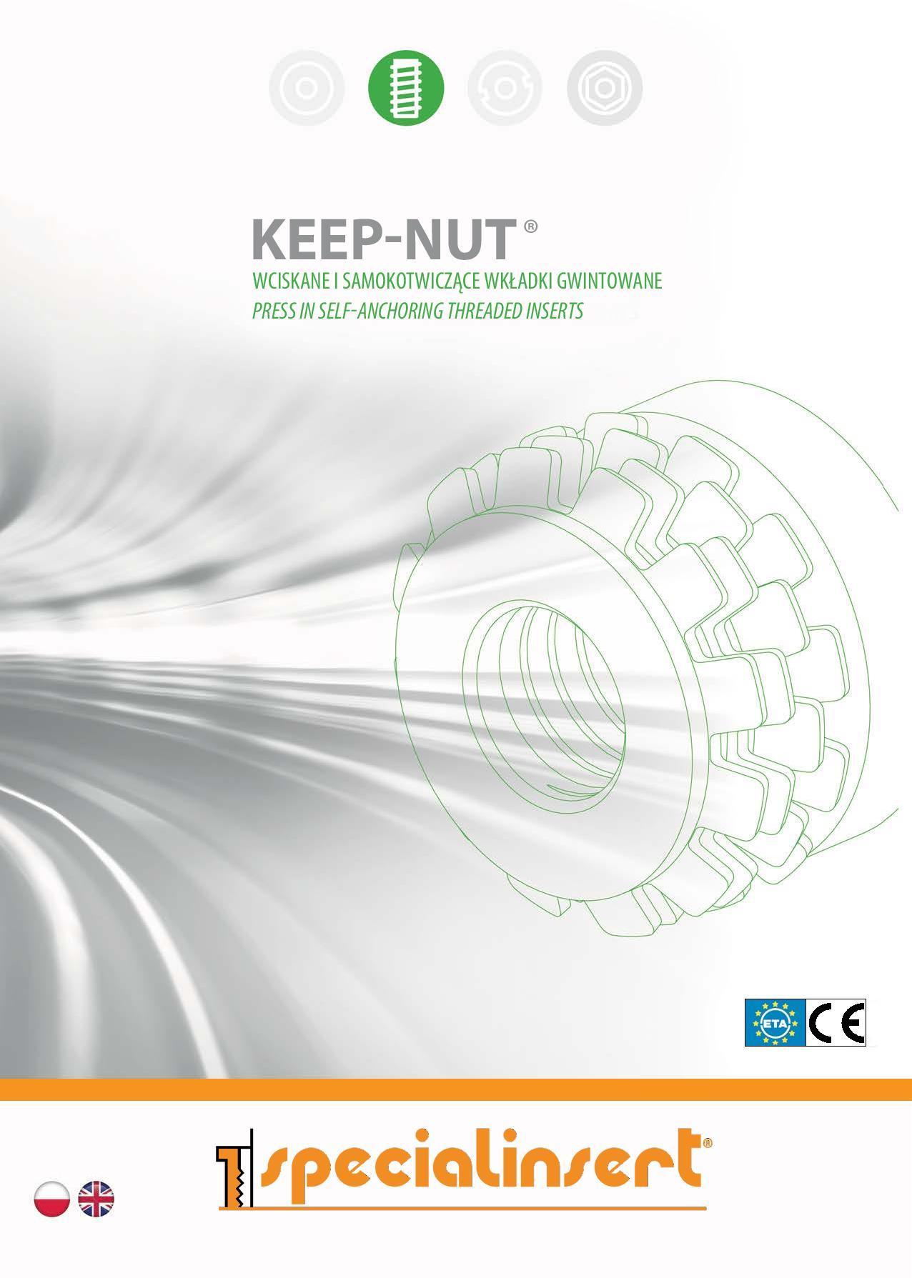 PL Keep Nut page 001 - Nowy katalog Keep-Nut®