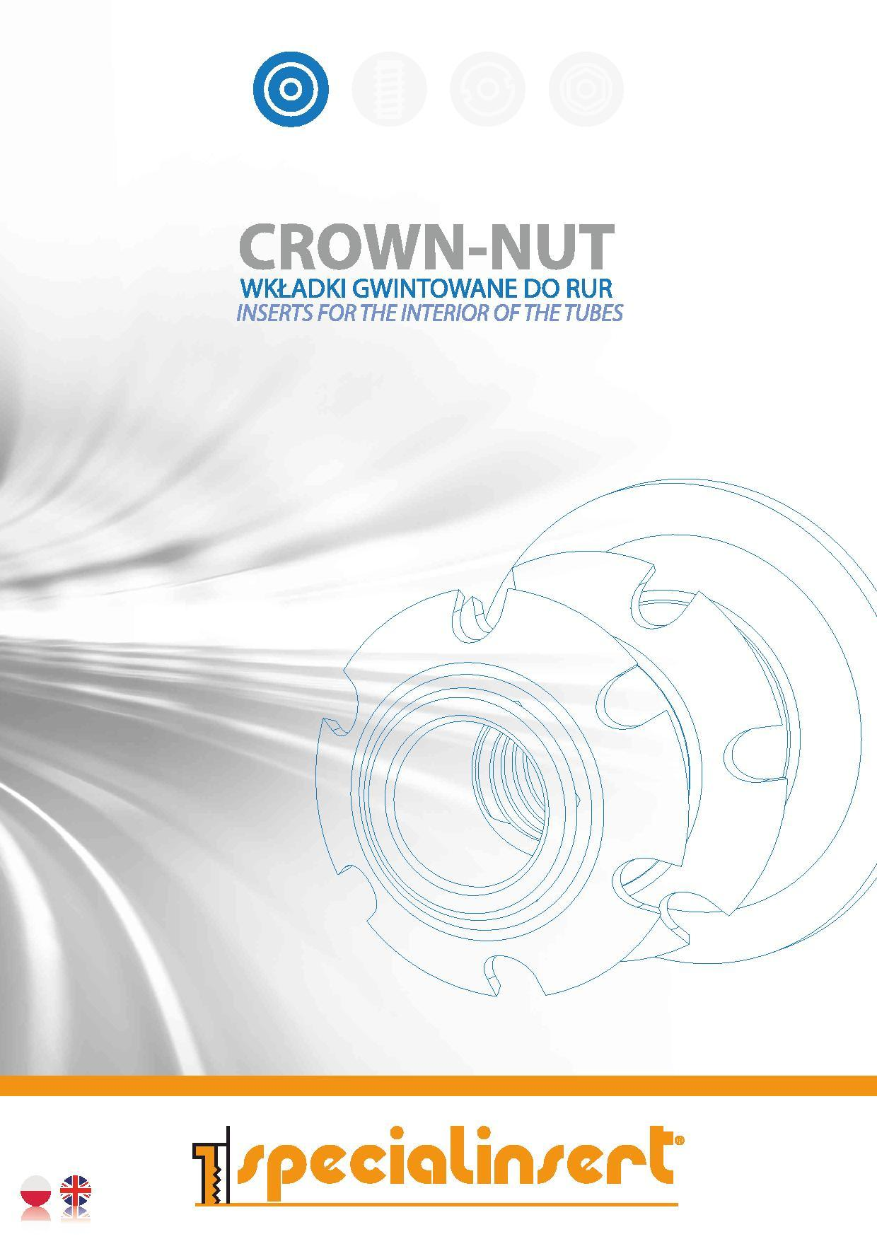 PL Crown Nut page 001 - Polska Wersja Katalogu CROWN-NUT gotowa!