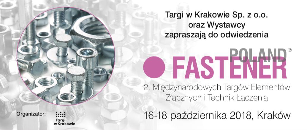 fastener 2018 - Zapraszamy na Targi Fastener Poland 2018